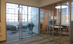 Floor to ceiling demountable walls