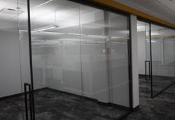 Installation of Muraflex Walls for private offices